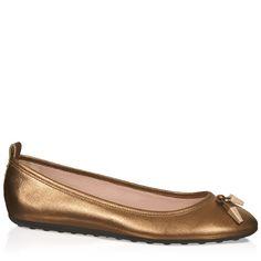 Tod's Leather ballerinas sHOU8SX