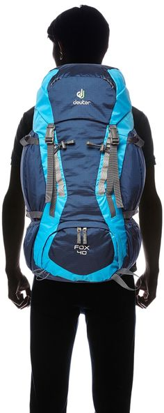 Deuter Kinder Rucksack Fox, midnight-turquoise, 68 x 30 x 24 cm, 40 Liter, 3608333060: Amazon.de: Sport & Freizeit