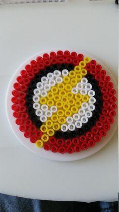 Perler beads, Beads and Heart on Pinterest