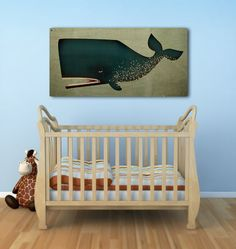 BARNACLE WHALE Graphic Illustration Gallery by nativevermont,