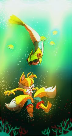 Cosmo and Tails. by Cheroy.deviantart.com on @deviantART