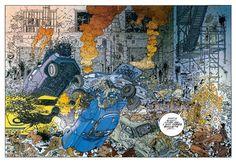 Hard Boiled  by Geof Darrow (Illustrator) Frank Miller (Author)