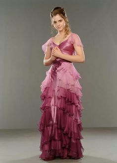 Hermoine's Yule Ball gown