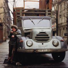 "EBERHARD GRAMES ""EAST GERMAN TRUCK DRIVER"" 1989"