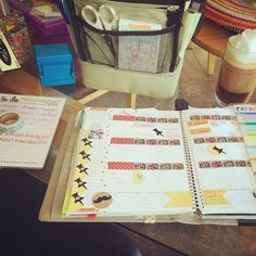 """Planner time! @erincondren"""