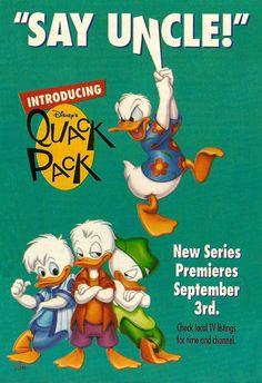 Quack Pack ad - Disney Adventures (1996)