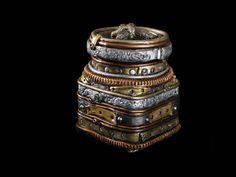 This clay covered steampunk jar has a classy by TheStacheWorks, $325.00