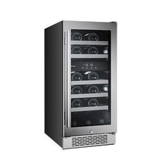 23 Bottle Dual Zone Built-In Wine Cooler Secondary Image