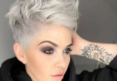 Super Short Hairstyles For Women Short Haircut Styles, Short Hairstyles For Thick Hair, Very Short Hair, Haircut For Thick Hair, Short Hair Styles Easy, Curly Hair Men, Hairstyles For Round Faces, Short Hair Cuts For Women, Curly Hair Styles
