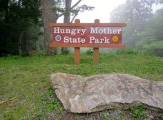 Hungry Mother State Park was where Hank and I camped for two days on our first trailered motorcycle adventure. Great time!