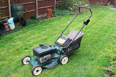 Tuneup the lawnmower to make sure it runs well all through summer