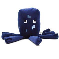 New Minecraft Plush Toys Enderman Ocelot Pig Sheep Bat Mooshroom Squid Spider Wolf Animal soft stuffed dolls kids toy gift