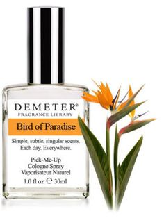 Fragrance of the Day is Bird of Paradise. Happy Birthday to Meat Loaf. We know all the words to his song Paradise by the Dashboard Light. Do you?     50% off with code 10437252.    http://www.demeterfragrance.com/746105/products/Bird-of-Paradise.html
