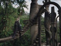 STRANGER THAN PARADISE // Tilda Swinton for W Magazine // Photographs by Tim Walker // Styled by Jacob K