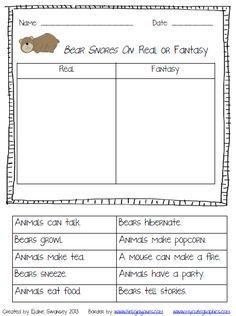 Bear Snores On: Real vs. Fantasy