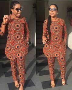 Stunning Ankara Tops And Trouser Styles For Super Ladies African Fashion Ankara, Latest African Fashion Dresses, African Dresses For Women, African Print Dresses, African Print Fashion, Africa Fashion, African Inspired Fashion, African Attire, African Women Fashion