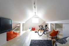 attic play room | HOUSE WE LOVE: After moving into a 1940s bungalow, a design-savvy ...