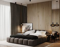 MODERN on Behance Condo Living Room, Luxurious Bedrooms, Modern House Design, Living Room Designs, Interior Design, Behance, Curtains Living, 3ds Max, Home Decor