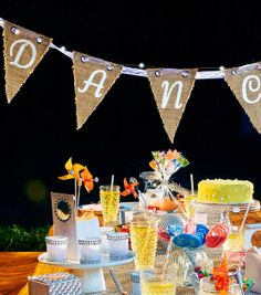 Burlap Bunting | Burlap Banner from David Tutera | Find craft supplies and burlap at @Jo-Ann Fabric and Craft Stores