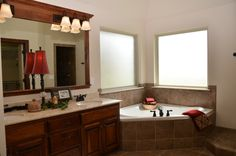 Bathrooms | Mirrors | Tubs | Granite | Tile | Lighting | Home Builder | Oklahoma City