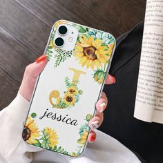 Diy Phone Case, Cute Phone Cases, Iphone Phone Cases, Iphone Case Covers, Name Letters, Aesthetic Phone Case, Personalized Phone Cases, Apple Products, Peace And Love