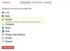 You Can Now Merge Google+ Accounts