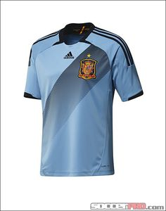 adidas Spain Away Jersey 2012 - 2013...$79.99