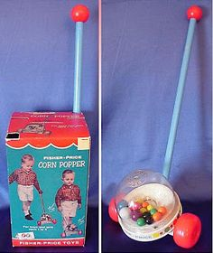 Childhood Memory Keeper: Retro Pop Culture from the 1960s, 1970s and 1980s: Fisher-Price Corn Popper