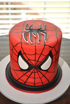 Hope's Sweet Cakes: Spiderman Cake