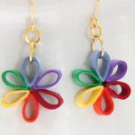 New Paper Quilling Tutorial for Earrings! Diy Quilling, Paper Quilling Earrings, Paper Quilling Tutorial, Paper Quilling Flowers, Paper Quilling Designs, Quilling Paper Craft, Quilling Patterns, Flower Paper, Paper Jewelry