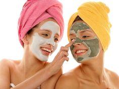 Homemade acne masks