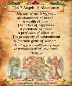 http://www.myangelcardreadings.com  Attracting abundance with the Angels