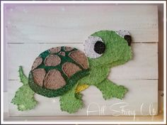 Timmy turtle string art all strung up