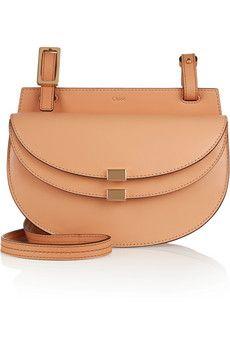 Chloé Georgia mini leather shoulder bag | NET-A-PORTER