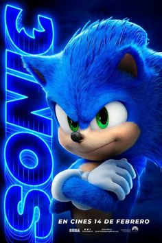Ahead of Sonic the Hedgehog's debut in theatres on February Paramount Spain has released a new poster for the upcoming, live-action video game movie. Check it out. Sonic The Movie, The Sonic, Sonic Art, Sonic Sonic, Sonic The Hedgehog, Hedgehog Movie, Hedgehog Game, Fotos Do Sonic, Knuckles The Echidna