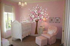 1-decorar quarto de bebe menina