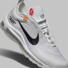 new arrival 41f2b 34b77 Included in the  GHOSTING  collection, Virgil approached the Air Max 97  with transparent materials to expose the structure of the shoe.