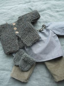 Knitting patterns boys sweaters girls 37 ideas for 2019 Knitting Patterns Boys, Knitting For Kids, Baby Knitting, Crochet Baby, Knitting Toys, Knitted Baby, Knitting Ideas, Baby Outfits, Kids Outfits