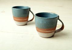 JOINERY - Wide Strap Mug by Mondays Projects - LIVING