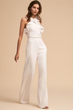 Best 12 Product Name Fashion elegant falbala vacation jumpsuit Brand Name Eyekingdom Gender Women Season Spring/Summer Type Lady/Elegant/Fashion Occasion Office/Daily life/Date Pattern Plain – SkillOfKing. Rehearsal Dinner Fashion, Rehearsal Dinner Etiquette, Rehearsal Dinners, Elegante Jumpsuits, Wedding Jumpsuit, Outfit Trends, Little White Dresses, Mode Inspiration, Jumpsuits For Women