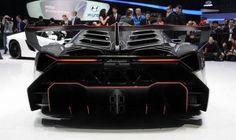 Lamborghini Veneno from back