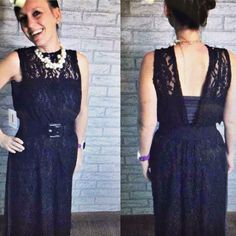 Check it OUT! A Maxi skirt as a dress and a Joy worn backwards!!! Stunning!