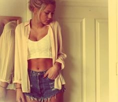 Not sure about the mom shorts fad yet, but if I were to try it this is how it's done