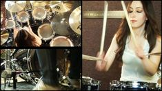 Meytal Cohen : FIVE FINGER DEATH PUNCH - UNDER AND OVER IT - DRUM COVER BY MEYTAL COHEN