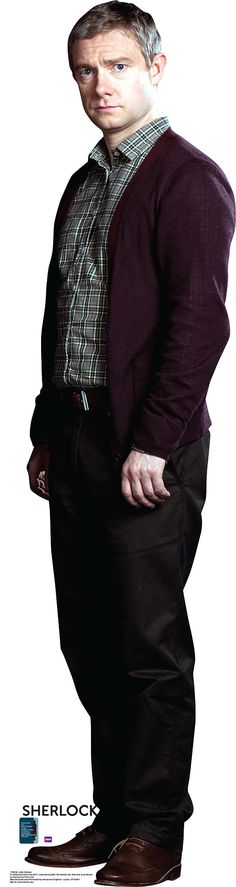 BBC's Sherlock Dr. John Watson Cardboard Standup