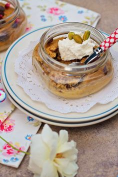 """Sweet Potato Chocolate Chip Jar Cakes"" from @Marla Meridith"