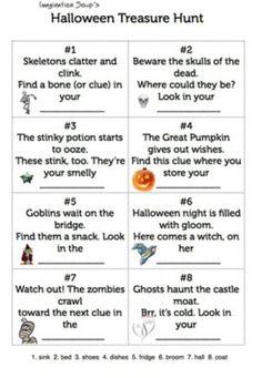 Halloween puzzle
