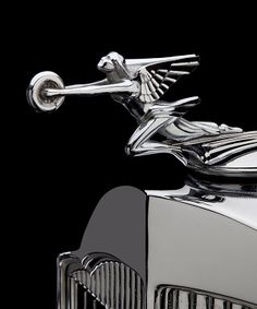 1930's Packard S8 Hood Ornament   Chrome Winged Woman Holding Wheel    Google Image Result for http://classiccars.com/articles/images/le_may2012a_2.jpg