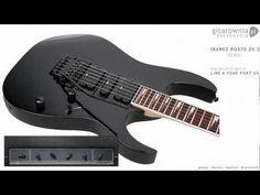 Шестиструнная электрогитара IBANEZ RG370DXZ BLACK. Инструмент находится в магазине Музснаб г. Ступино Подробнее http://muzsnabst.ru