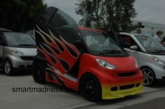 smart car Parts and Accessories Vertical Doors, Car Parts And Accessories, Smart Car, Bicycle Helmet, Muscle Cars, Madness, Top, Cycling Helmet